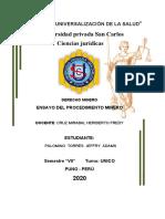 ENSAYO DE PROCEDIMIENTO MINERO ORDINARIO.docx