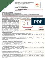 Guía Las Reacciones Químicas.