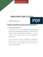 Resumen Ejecutivo 1616