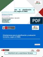 Orientaciones para la Evaluación Formativa - Secundaria - UGEL Satipo - Rode Huillca, Víctor Bastidas, Carlos Sánchez