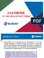 informe N.° 083-2019-SUNAT/7T0000