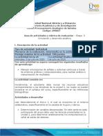 Guía de actividades y rúbrica de evaluación - Unidad 2- Etapa 3 - Simulación y desarrollo analítico (1)