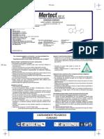 PQUA MERTECT 500 SC- Hoja Informativa (Francia)