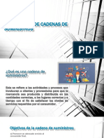 ESTRATEGIAS DE CADENAS DE SUMINISTROS-Tarea