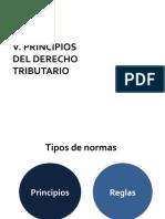 PRINCIPIOS DE DERECHO TRIBUTARIO CLASE HERMENEUTICA