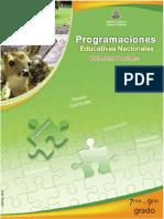 Programaciones Educativas Nacionales CS 7°-9° (edición 2011)