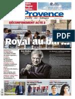 Journal La Provence Marseille du 29 Mai 2020