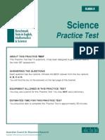 IBT Sample Grade 4 Science