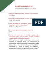 RESOLUCION DE CONFLICTOS ETICA