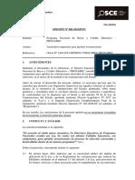 OPINIÓN OSCE 005-13 - PRE - Aprobación de exoneración