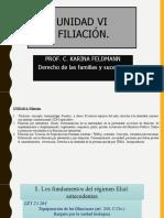 CIVIL V UNIDAD 6 FILIACION