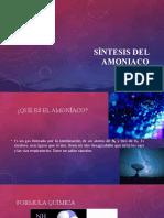 Síntesis del amoniaco0.1