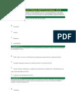 II TEST DE DOCTRINA INSTITUCIONAL 2019