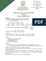 T D DE THERMODYNAMIQUE IC  ENSPM.pdf