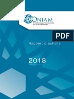 ONIAM - Rapport activite 2018