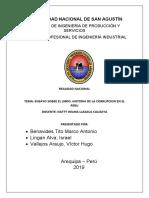 ensayo HISTORIA DE CORRUPCION EN EL PERU