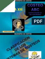 SEMANA XIII COSTEO ABC