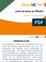 11_Definicion de tareas en PROJECT_parte 1