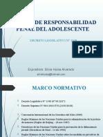 RESPONSABILIDAD PENAL ADOLESCENTE 2018 dr
