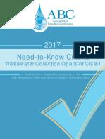 ABCNeedToKnowCriteria_WastewaterCollectionOperatorClassI