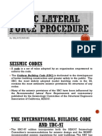 PART 1 - STATIC LATERAL FORCE PROCEDURE