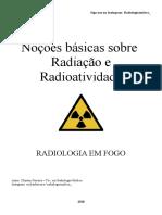 Noções basicas sobre Radiação - Mini Apostila