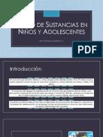 Abuso de sustancias en niños y adolescentes