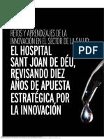 Retos y aprendizajes de la innovación en el sector de la salud el Hospital Sant Joan de Déu