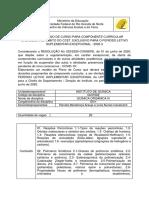 Plano de Aula de Química Orgânica III