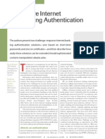 Authentication Article
