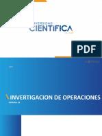 Investigación de operaciones - Semana 10