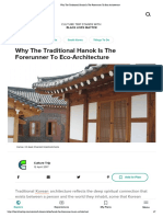 Why the Traditional Hanok is the Forerunner to Eco-Architecture