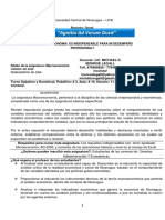 SYLLABUS DE  Macroeconomía-2019