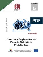 Conceber e implementar planos de melhoria da produtividade