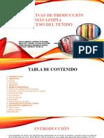 ALTERNATIVAS DE PRODUCCIÓN MÁS LIMPIA