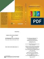 Origin and Development of Experimental Science