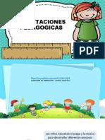 CLASE  Orientaciones Pedagogicas