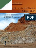 CNRT Tome TECH 2016 Synthèse Latérites vol I