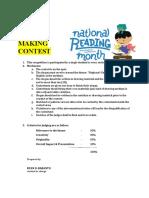 criteria reading
