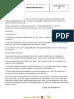 Devoir de Contrôle N°2 - Français - 2ème Sciences (2010-2011)