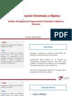 2. S1_U1_VC_Paradigma de Programación Orientada a Objetos y Herencia