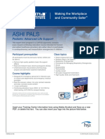 ASHI PALS Form Field Flyer
