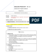 Evaluación Final 2019 – 10 – B