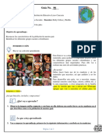 Ciencias Sociales 5° .. guía 6