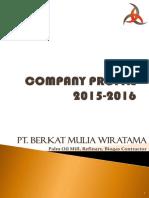 COMPANY PROFILE 2015-2016