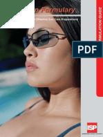 Sunscreen Formulary