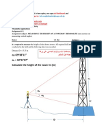 Engineering Surveying Laboratory Assignment 3