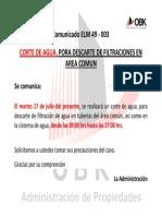 ELM 49 - 003 CORTE DE AGUA JULIO 2018 (LA MAR)