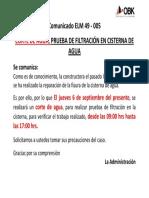 ELM 49 - 005 CORTE DE AGUA 6 SEPTIEMBRE 2018 (LA MAR)