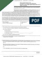 Chase Untermeyer FARA Disclosure Amendment